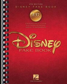 The Disney Fake Book DISNEY FAKE BK REV/E 4/E [ Hal Leonard Corp ]
