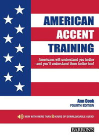 American Accent Training: With Downloadable Audio AMER ACCENT TRAINING W/DOWNLOA [ Ann Cook ]