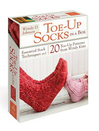 Toe-UpSocksinaBox:EssentialSockTechniquesand20Toe-UpPatternsfromWendyKnits