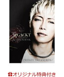 【楽天限定特典付き】GACKT PLATINUM BOOK 〜Private Treasures〜