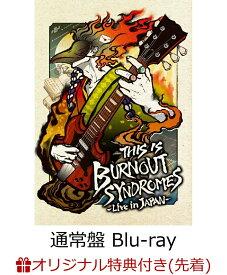 【楽天ブックス限定先着特典】THIS IS BURNOUT SYNDROMES-Live in JAPAN-(通常盤)【Blu-ray】(オリジナルアクリルキーホルダー) [ BURNOUT SYNDROMES ]