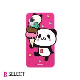 【楽天モバイル純正】Rakuten Mini お買いものパンダ シリコンケース ピンク