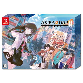 【楽天ブックス限定特典+特典】AKIBA'S TRIP ファーストメモリー 初回限定版 10th Anniversary Edition Switch版(マイクロファイバークロス+【初回購入特典】外付けクリアシール)