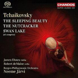 【輸入盤】『白鳥の湖』全曲、『くるみ割り人形』全曲、『眠りの森の美女』全曲 ネーメ・ヤルヴィ&ベルゲン・フィル(5SACD) [ チャイコフスキー(1840-1893) ]