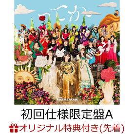 【楽天ブックス限定先着特典】ってか (初回仕様限定盤 Type-A CD+Blu-ray)(ステッカー(Type D)) [ 日向坂46 ]