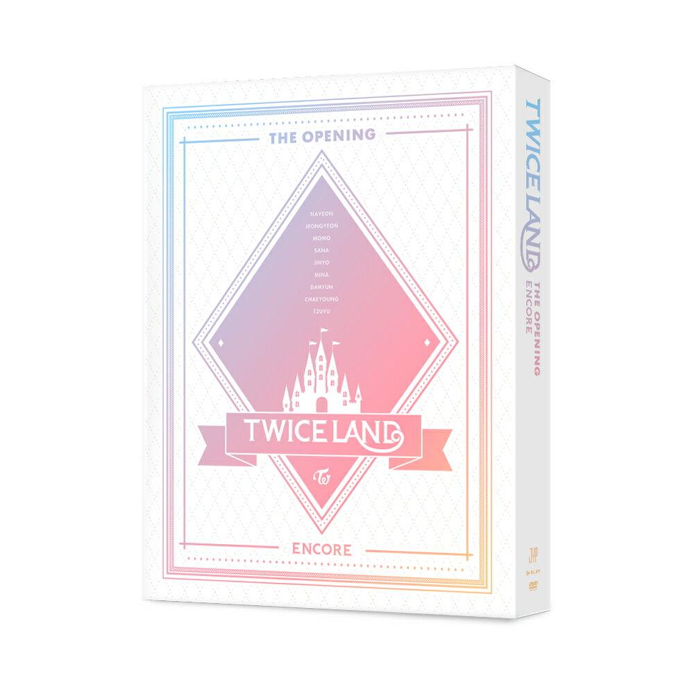 【輸入盤】TWICE 1ST TOUR 'TWICELAND' - THE OPENING [ENCORE] [ TWICE ]