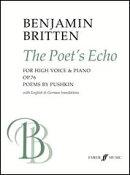 【輸入楽譜】ブリテン, Benjamin: 詩人のこだま Op.76(高声用)