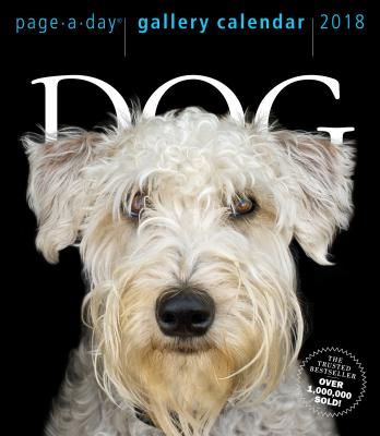 DOGS GALLERY CALENDAR 2018(PAGE-A-DAY) [ WORKMAN PUBLISHING ]