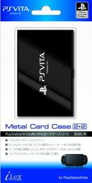 PlayStation オフィシャルライセンス商品 PS Vita用カードケース『メタルカードケース2+2(ブラック)』for PlaySta…