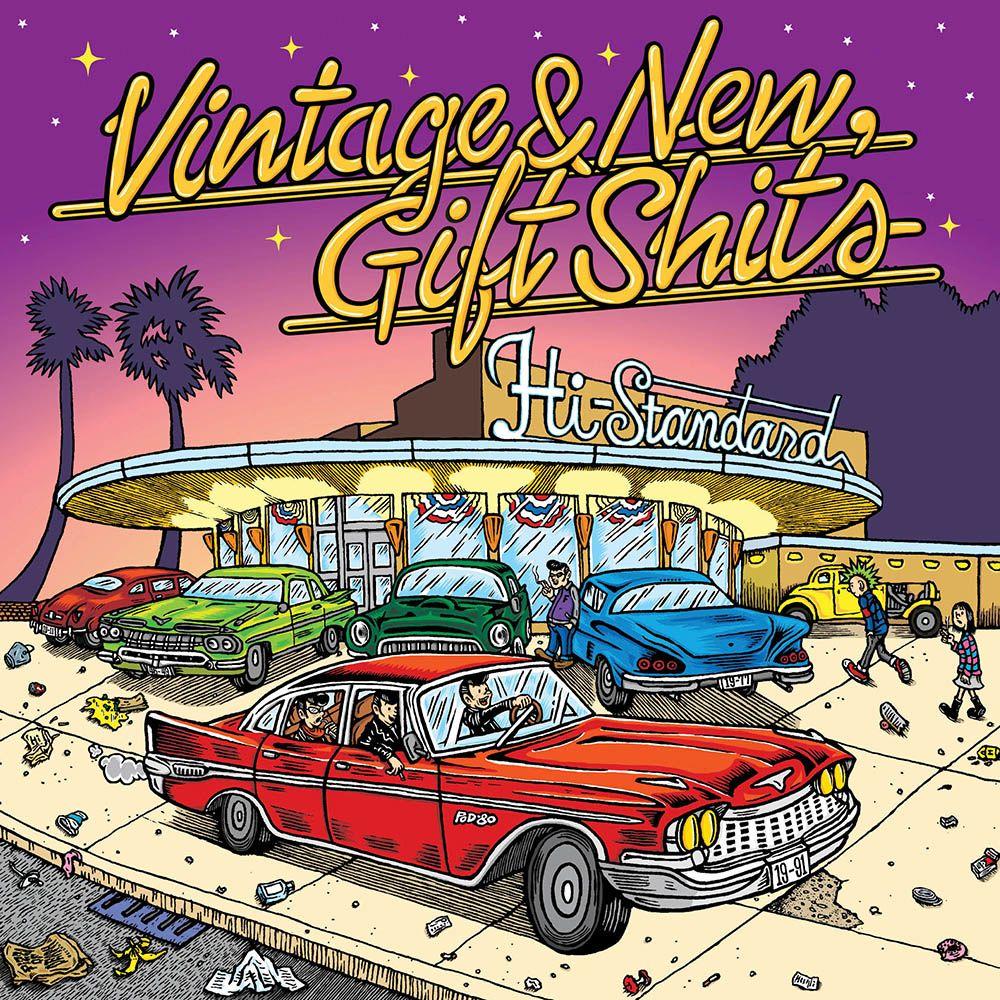 Vintage & New,Gift Shits [ Hi-STANDARD ]