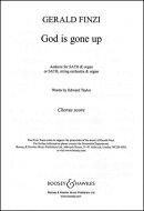 【輸入楽譜】フィンジ, Gerald: 3つの讃歌 Op.27 より 第2番「神は召された」(混声四部合唱とオルガン伴奏)(英語)