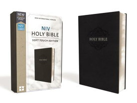 NIV, Holy Bible, Soft Touch Edition, Imitation Leather, Black, Comfort Print NIV HOLY BIBLE SOFT TOUCH /E I [ Zondervan ]