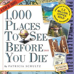 1,000 Places to See Before You Die Page-A-Day Calendar 2018