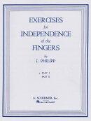 【輸入楽譜】フィリップ, Isidor: 独立した指のための練習 第1巻