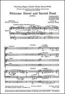 【輸入楽譜】フィンジ, Gerald: 3つの讃歌 Op.27 より 第3番「甘く聖なる祝宴」(混声四部合唱とオルガン伴奏)(英語)