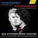 【輸入盤】チャイコフスキー:交響曲第5番、ラフマニノフ:ピアノ協奏曲第1番 ダン・エッティンガー&シュトゥット…