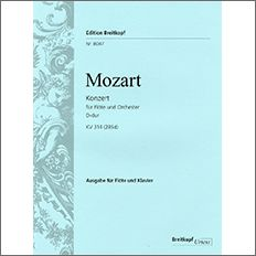 【輸入楽譜】モーツァルト, Wolfgang Amadeus: Konzert Nr.2 D-dur KV 314(285D)/Schulze