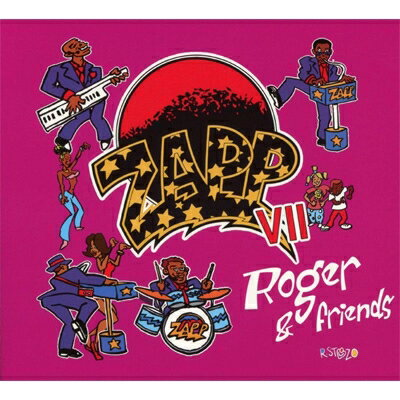 【輸入盤】Zapp VII: Roger & Friends [ Zapp ]
