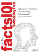 Studyguide for Introduction to Clinical Psychology by Gotlib, Compas &, ISBN 9780070124912