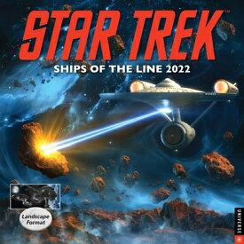 Star Trek Ships of the Line 2022 Wall Calendar ST SHIPS OF THE LINE 2022 WALL [ Cbs ]