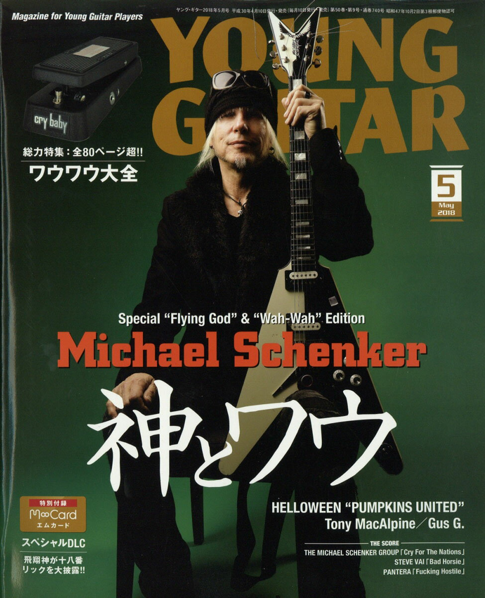 YOUNG GUITAR (ヤング・ギター) 2018年 05月号 [雑誌]
