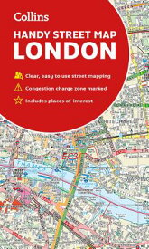 Collins Handy Street Map London MAP-COLLINS HANDY STREET MAP L [ Collins Maps ]