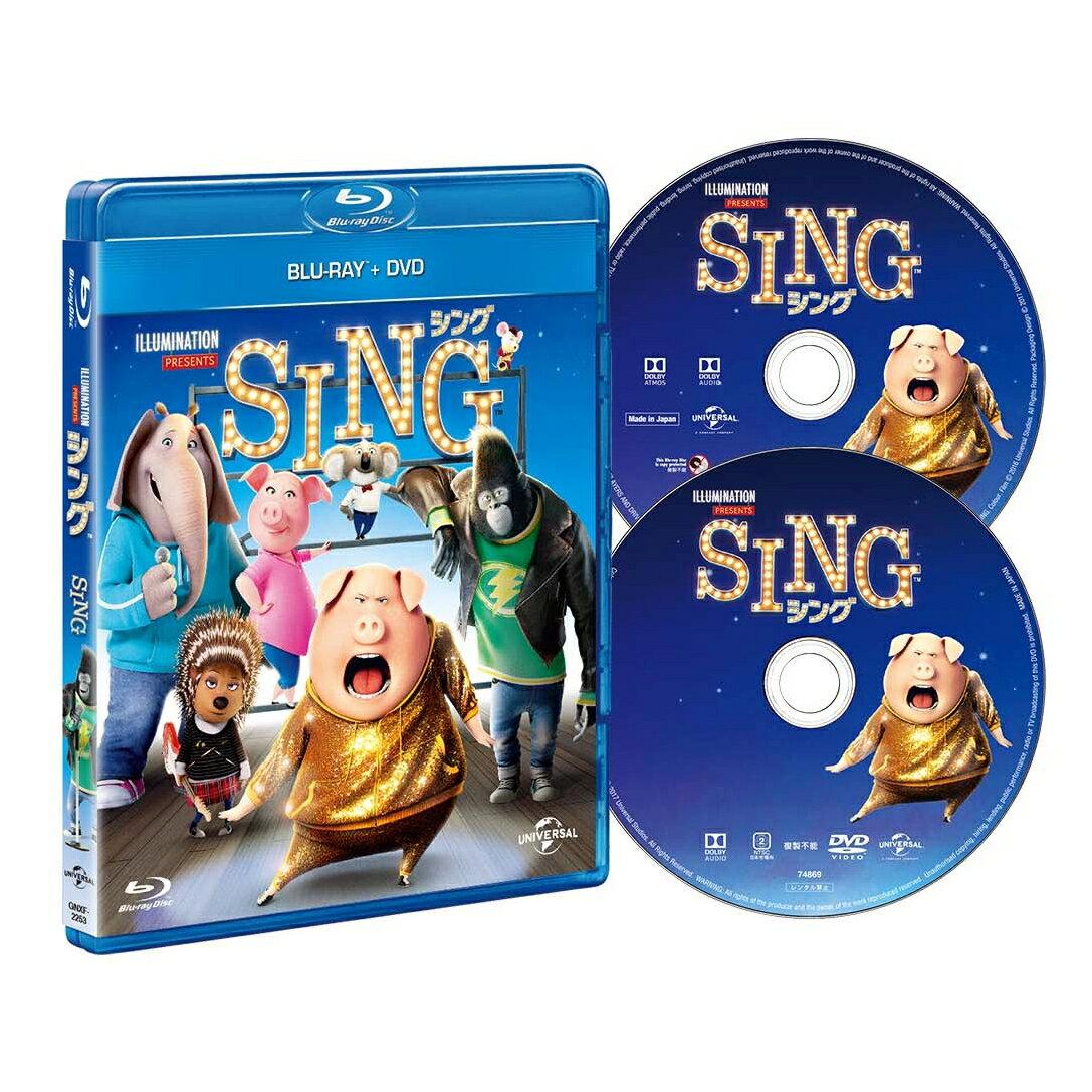 SING/シング ブルーレイ+DVDセット【Blu-ray】 [ マシュー・マコノヒー ]