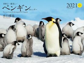 2021年 ワイド判カレンダー 世界で一番美しいペンギン カレンダー (誠文堂新光社カレンダー) [ 水口 博也 ]