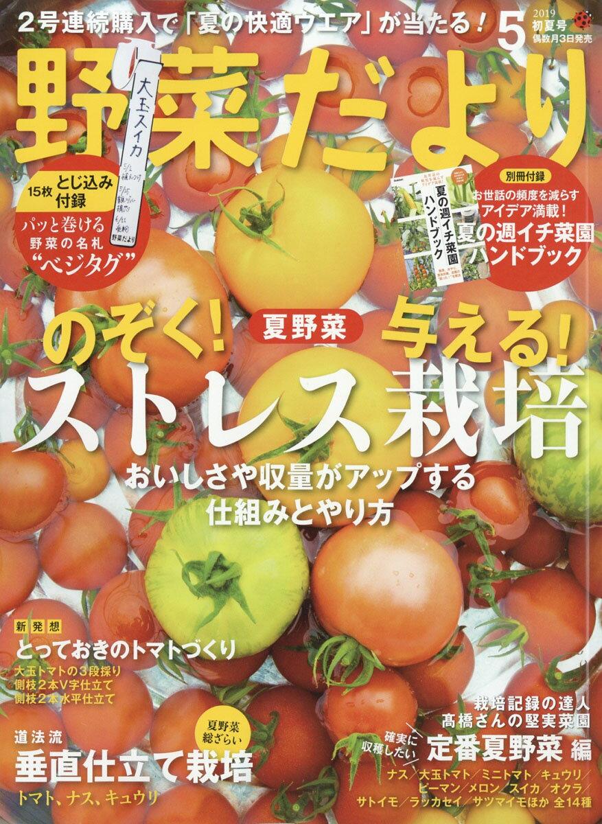 野菜だより 2019年 05月号 [雑誌]