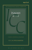 Isaiah 6-12: A Critical and Exegetical Commentary