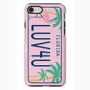 SW-TCI7-201 Numberplate pastel Florida (ナンプレシリーズ) 【iPhone6/6S/7 タフケース】