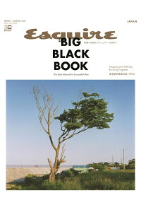 EsquireTHEBIGBLACKBOOKSPRING/SUMMER20212021年06月号[雑誌]