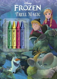 FROZEN:TROLL MAGIC(P W/CRAYONS) [ COURTNEY CARBONE ]
