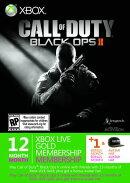 Xbox LIVE 12ヶ月+1ヶ月 コール オブ デューティ ブラックオプスIIエディション