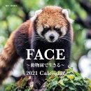 2021年 大判カレンダー FACE 〜動物園で生きる〜 2021 Calendar