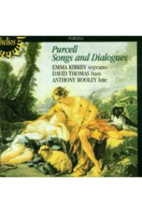 【輸入盤】Songs&Dialogues:Kirkby(S)thomas(Bs)rooley(Lute)[パーセル(1659-1695)]