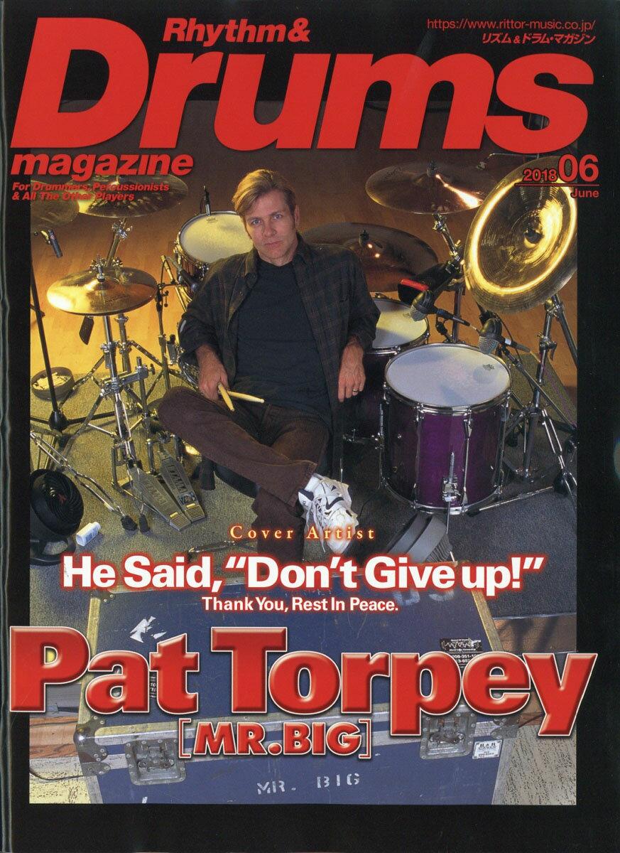 Rhythm & Drums magazine (リズム アンド ドラムマガジン) 2018年 06月号 [雑誌]
