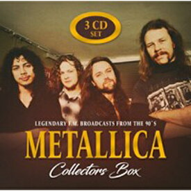 【輸入盤】Collectors Box (3CD) [ Metallica ]