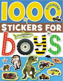 1000 Stickers for Boys [With Sticker(s)] STICKER BK-1000 STICKERS FOR B (1000 Stickers For...) [ Make Believe Ideas Ltd ]