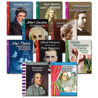 Inventor Biographies Set: 10 Titles INVENTOR BIOGRAPHIES SET-10CY [ Teacher Created Materials ]