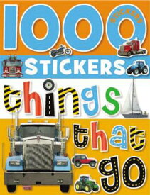 1000 Stickers: Things That Go [With Sticker(s)] STICKER BK-1000 STICKERS THING [ Make Believe Ideas Ltd ]