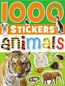 1000 Stickers: Animals [With Sticker(s)] STICKER BK-1000 STICKERS ANIMA [ Make Believe Ideas Ltd ]