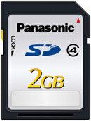 Panasonic 2GB SDメモリーカード RP-SDL02GJ1K