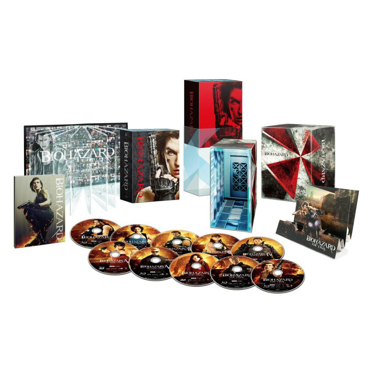 バイオハザード アルティメット・コンプリート・ボックス(完全数量限定)(10枚組)【Blu-ray】 [ ミラ・ジョヴォヴィッチ ]