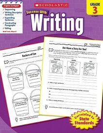 Scholastic Success with Writing, Grade 3 SUCCESS W/WRITING GRADE 3 [ Scholastic ]