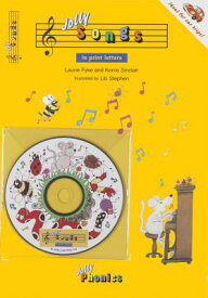 Jolly Songs: Book & CD in Print Letters (American English Edition) JOLLY SONGS [ Laurie Fyke ]