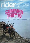 rider (ライダー) 2019年 07月号 [雑誌]