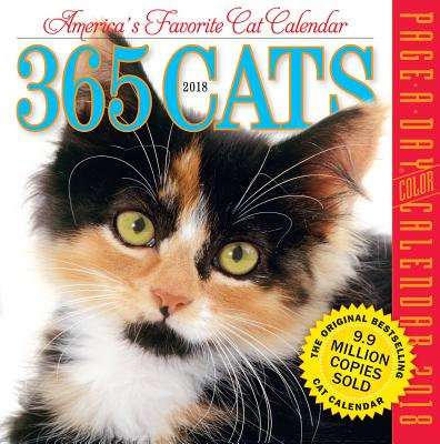 365 Cats Page-A-Day Calendar 2018 CAL 2018-365 CATS PAGE-A-DAY [ Workman Publishing ]