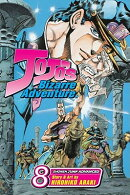 Jojo's Bizarre Adventure: Stardust Crusaders, Vol. 8