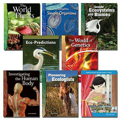 All about Life Science Set: 8 Titles ALL ABT LIFE SCIENCE SET-8CY [ Teacher Created Materials ]